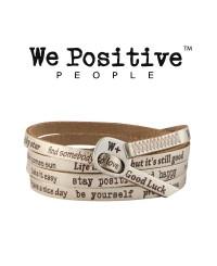 We Positive Bracciale Oro 118