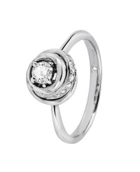 Anello diamanti ct. 0,45