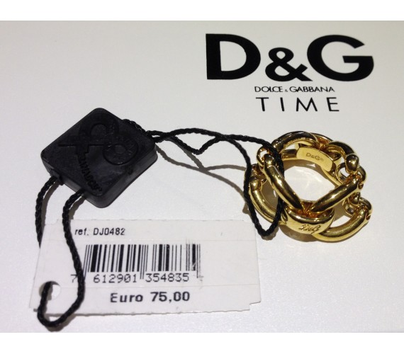 Anello D&G DJ0482