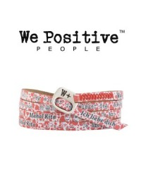 We Positive Bracciale Cuori Mix 222