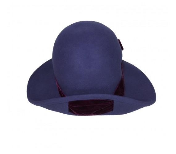 Cappello Blu Nastrino