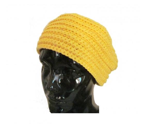 Cappello Lana Giallo