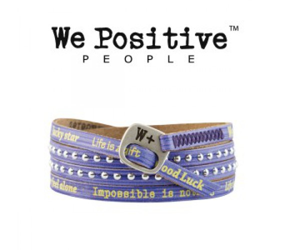 We Positive Violet Coloured HD019